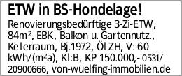 ETW in BS-Hondelage!