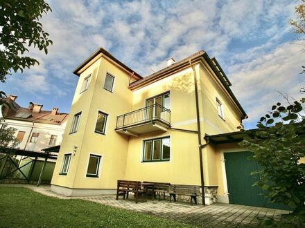 Klagenfurt - am Fuße des Kreuzbergls: 87 m² Wohnung im 1.OG mit Westbalkon und Gartenbenützung