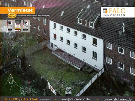 Sanierte 2,5-Zimmer-Wohnung im 1. OG mit Garten