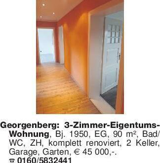Georgenberg: 3-Zimmer-Eigentum...