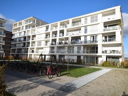 Wohnen am Fluss ! Hochwertige Neubau-Wohnung mit tollem Blick auf die Weser