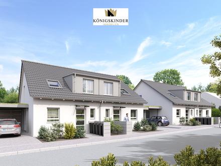 *Neubauprojekt* Familienfreundliche DHH am Südhang + Terrasse + Balkon + Garten + Carport!