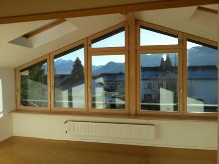Dachgeschosswohnung mit Bergblick in Bernau