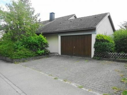 Im Westen von Heidenheim in sehr schöner Lage - 1-Fam.-Haus mit ELW