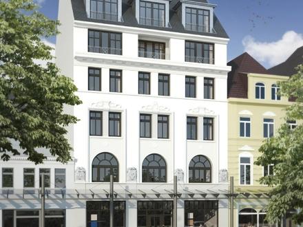 Neuwertige Büroflächen mit Blick auf die grünen Wallanlagen