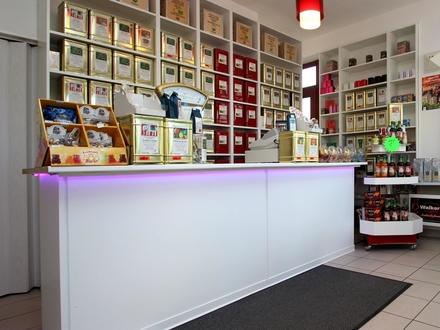 BERK Immobilen - Für Existenzgründer! - Teeladen in guter Geschäftslage - PKW-Stellplatz inklusive!