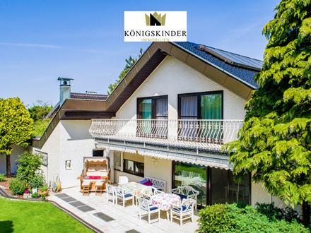 Prachtvoll.Elegant.Repräsentativ. Exclusive Villa in exclusiver Lage mit Wellness-Oase + XXL-Garten