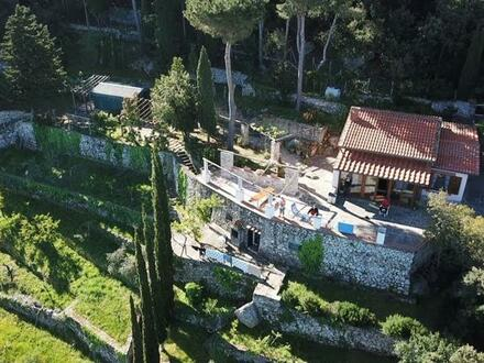 Isola d'Elba: gepflegtes Rustico - Juwel mit Panoramablick über das Tyrrhenische Meer!
