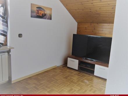 Schnuckelige Dachgeschoss-Wohnung