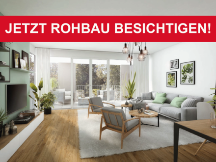 Großzügige 3-Zimmer Wohnung mit Süd-Balkon und Blick auf die Römersteine und grünen Außenbereichen