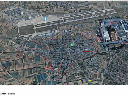 Grundstück mit vorgenehmigter Planung für 58-Betten Hotel in unmittelbarer Nähe zum Flughafen und Messe Stuttgart!