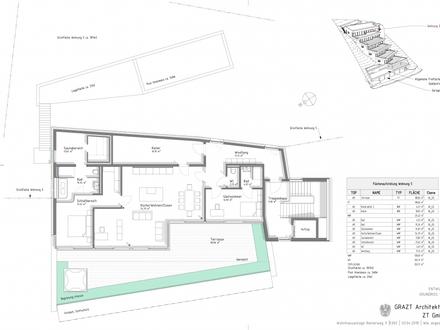 TOP 5 + 156,43 m² WNF + PROVISIONSFREI FÜR DEN KÄUFER + NÄHE REINERKOGEL + 97,57 m² TERRASSE + POOL