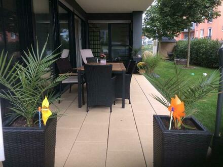 Traumhafte 122 m² EG-Wohnung mit großen Garten