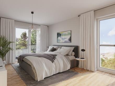 """Neubau """"NU Hölderlin"""": 3-Zi.-Wohnung mit sonnigem Balkon"""