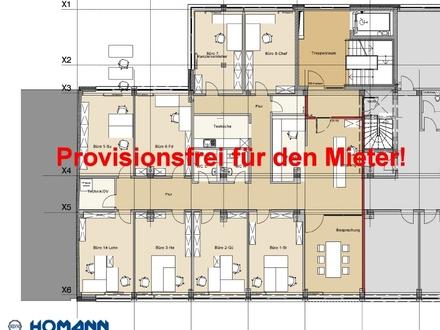 300 m² - Attraktive Neubau-Büro- und Praxisflächen in Bahnhofsnähe