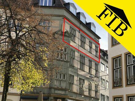 4 ZKB-Wohnung mit Balkon im Herzen der Bielefelder Altstadt!