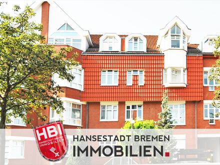Findorff / Attraktive 4-Zimmer-Wohnung mit Süd-Balkon und Tiefgaragenstellplatz