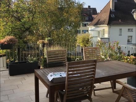 WOHNEN MIT HAUSCHARAKTER Maisonette Wohnung mit Balkon & Terrasse + Garten!