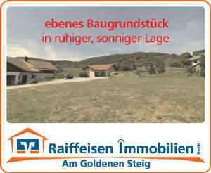 ebenes Baugrundstück in ruhiger und sonniger Lage - Ringelai