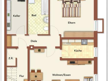 Schöne großzügige 2 Zimmer Wohnung ++Robert Decker Immobilien++
