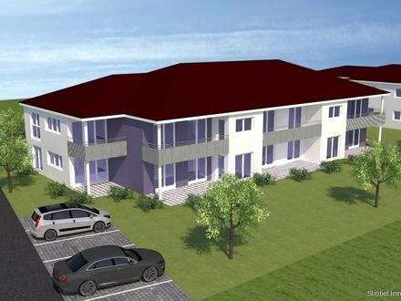 Moderne 2-Zimmer-Erdgeschosswohnung in Aurach zu kaufen - Neubau