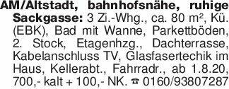 AM/Altstadt, bahnhofsnähe, ruh...