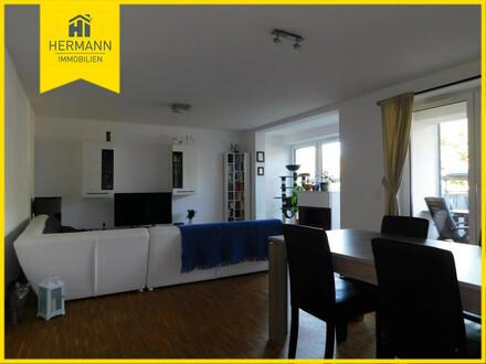 Helle 3-Zimmer-Erdgeschosswohnung mit Gartenanteil in Hanau