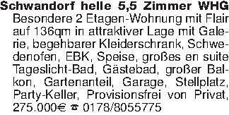 Schwandorf helle 5,5 Zimmer WH...