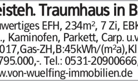 Haus in Braunschweig (38110)