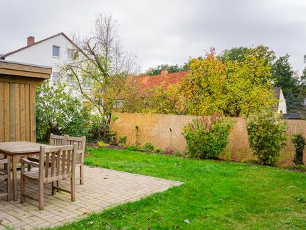 Eine Besonderheit: Eigener Gartenanteil mit Terrasse!