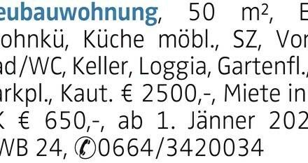 Mietwohnung in Linz - Stadt (4020) 50m²