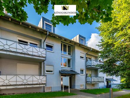 Charmante Dachgeschosswohnung + Balkon + 2 Stellplätze in RT-Sondelfingen