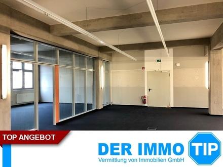 Rund 500 m² Büro mit Industrie Loft Charakter im Dresdner Osten