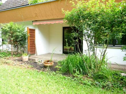 Walkmühltal: 2-Zimmer-Wohnung mit Terrasse und Gärtchen!