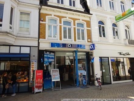 Fußgängerzone: Geschäftshaus in 1 A-Lauflage