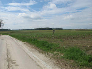 schönes Bauerwartungsland / landwirtschaftliche Grundstücksfläche in ländlicher Dorfgemeinschaft