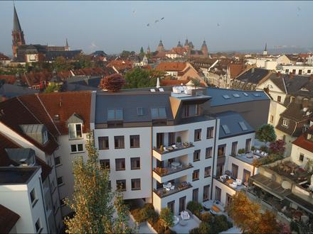 NEUBAU PROJEKT ERBSEN-SCHWIND Gewerbe mit hoher Visibilität,direkte Innenstadtlage in Aschaffenburg