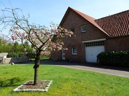Maisonette- Wohnung mit Garten in Kirchhatten