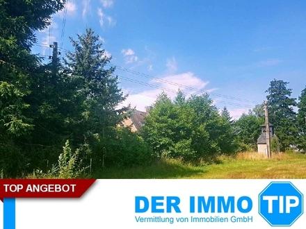 Idyllisches Baugrundstück für EFH in Otzdorf / Niederstriegis zum Kauf!