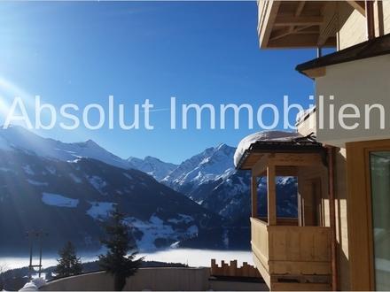 Schönes Appartement mit Zweitwohnsitz im Skigebiet Kitzbühel. Panoramablick & Garten mit Terrasse!
