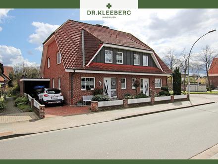 Gepflegte Doppelhaushälfte mit großem Südostgarten in bevorzugter Lage von Emsdetten