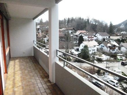 Helle, sonnige 2-Zimmer-ETW mit Südbalkon in Immenstadt