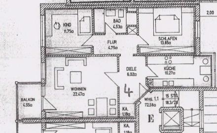 3-Zimmer Wohnung in Rosenheim / nähe Isarpark
