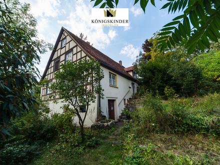 *Charmantes Bauernhaus in Wiesenbach, mit großer Scheune, sucht einen neuen Hausherrn*