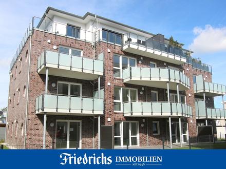 Neubau-Komfort-Obergeschosswohnung mit Balkon in Westerstede
