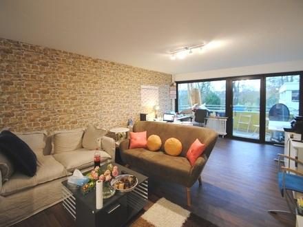 Hell und freundlich! Top renovierte 3-Zi-Wohnung in Ruhelage von Wallau