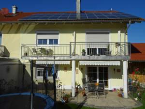 Und die Sonne zahlt mit....: Außergewöhnlich großzügige 5 Zi.ETW m. Photovoltaikanlage