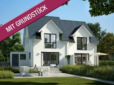 Traum-Doppelhaus für Baupartner in schöner Lage (inkl. Grundstück & Keller)