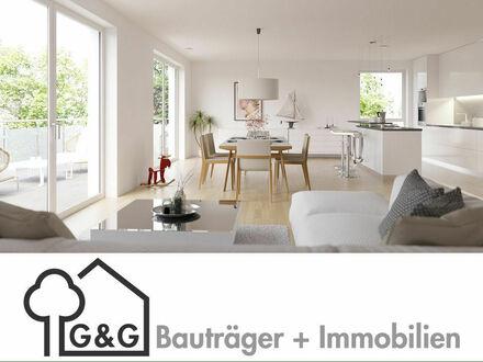 Whg 3: Innenansicht Wohnen/Essen/Kochen