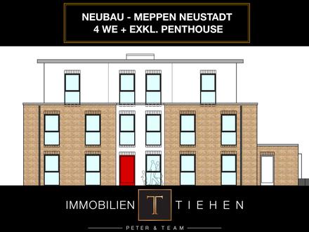Provisionsfrei: Neubau in der Neustadt - 4 WE + Penthouse! KfW 55, Aufzug, Carportanlage uvm!